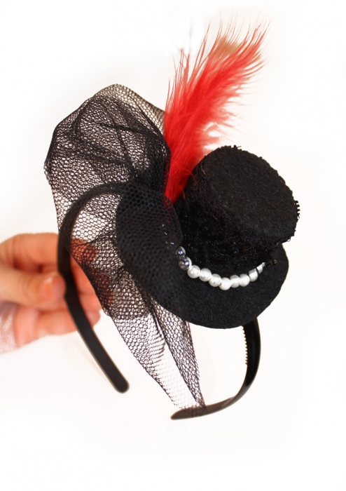 Сделать шляпку на ободке