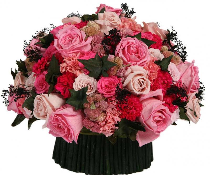 Хороший букет цветов с днем рождения