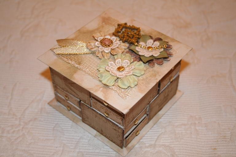 Шкатулки из подручных материалов своими руками