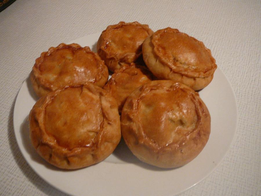 пироги с картошкой и курицей рецепты с фото