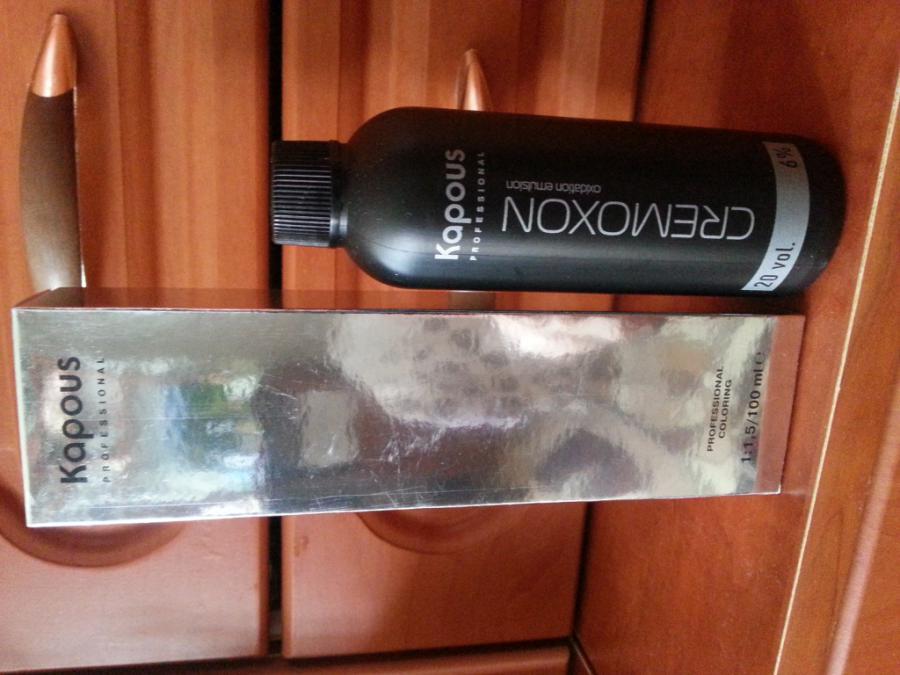 100 р. - Пудра компактная с эффектом загара матовая и кисть - 250 р. краска для волос капус, черного цвета и оксидант.
