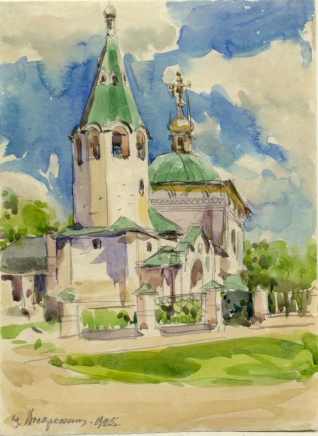 Художники рисовавшие храмы