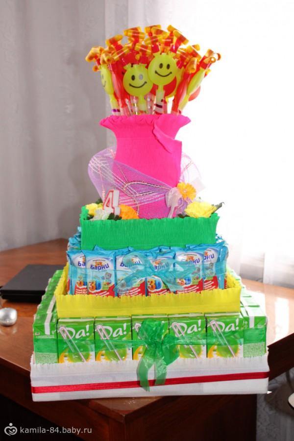 Торт своими руками для детского дня рождения