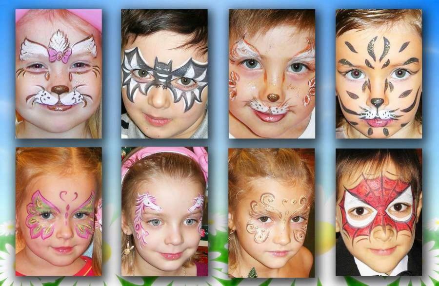 Маски красками детский праздник фото угощения детский праздник