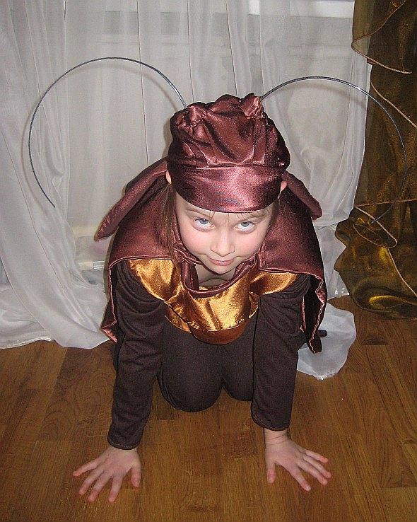 Костюм таракана детский своими руками с