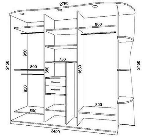 Как сделать шкаф купе своими руками в
