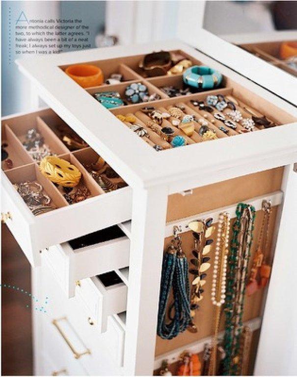 Как сделать шкафчик для бижутерии