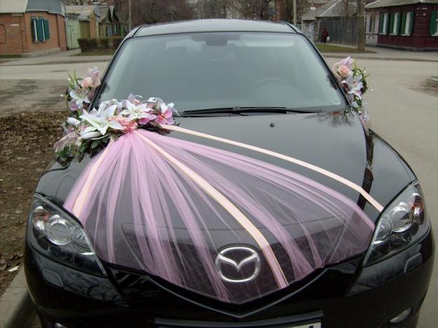 Свадебные машины фото украшение своими руками