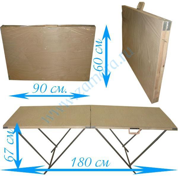 Раскладные столики для торговли своими руками