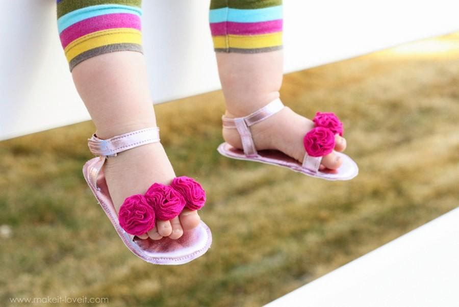 Туфли для малышки своими руками - Реальный переезд