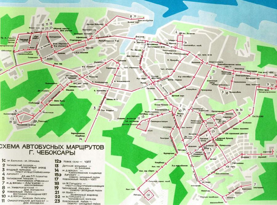 Маршрутки чебоксары схема движения 266 маршрутки
