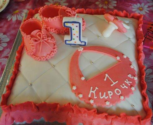 Открытка с днем рождения кире 1 годик