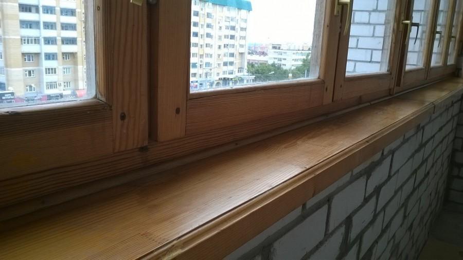 Балконная рама деревянная б/у - Чебоксары.
