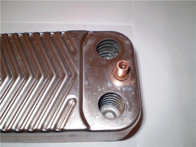 Замена теплообменника в газовом котле своими руками
