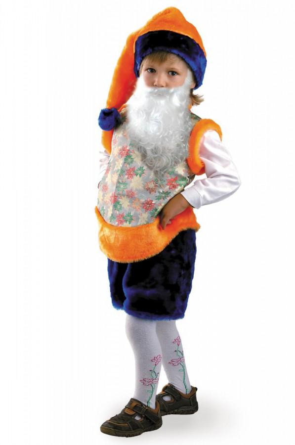 Как сделать новогодний костюм гномика на мальчика