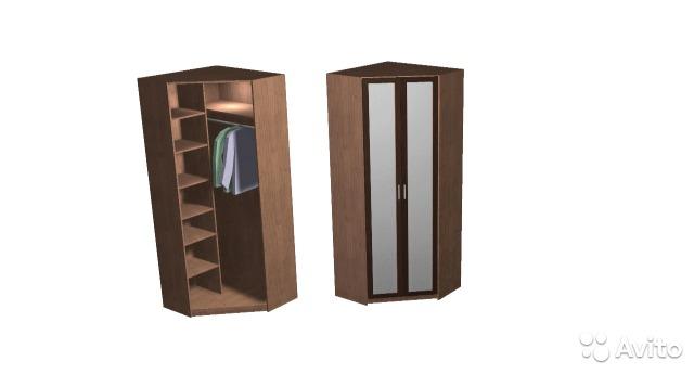 Продаются угловой вместительный шкаф - Чебоксары.