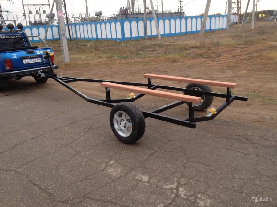 Телега для перевозки лодки пвх