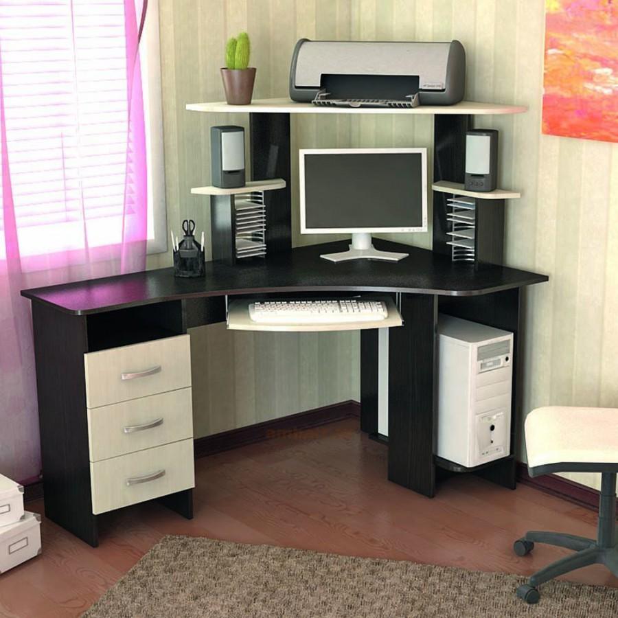 Продаю угловой компьютерный стол - Чебоксары.