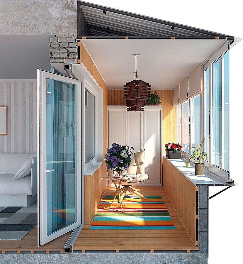 Балкон под ключ киев окна, двери, балконы rehau в киеве.
