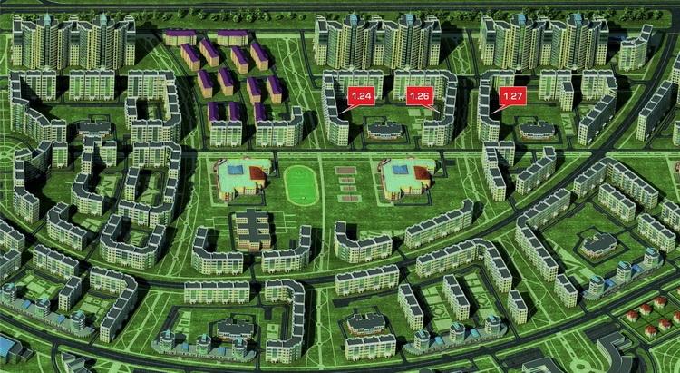 Квартиры в новом городе чебоксары цена