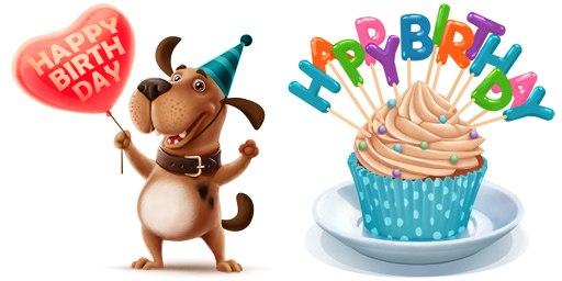 Картинка с днем рождения собачнику, аист анимация