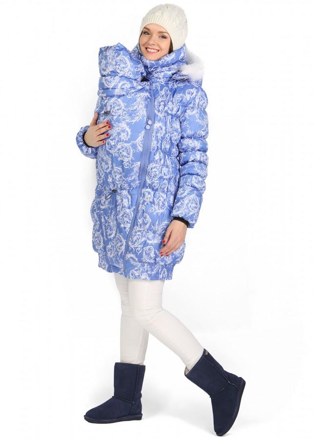 Зимняя куртка для беременных 3 в 1 68