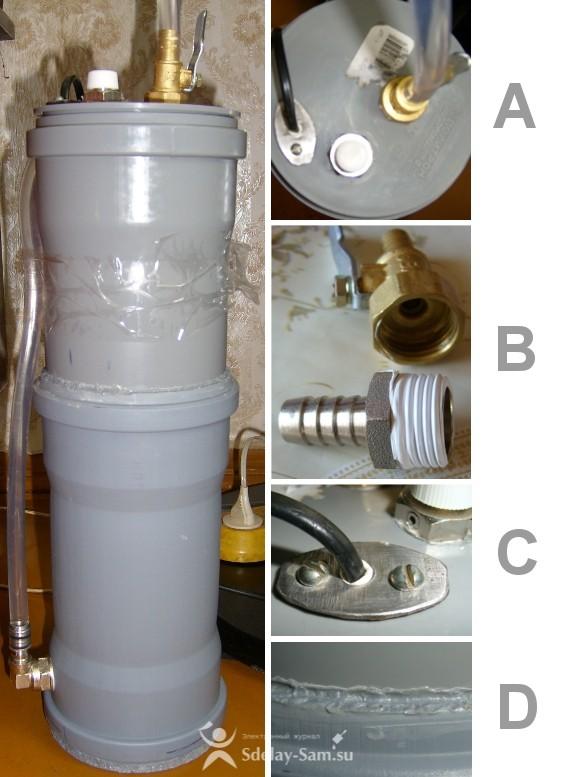 Как сделать наружный фильтр для аквариума
