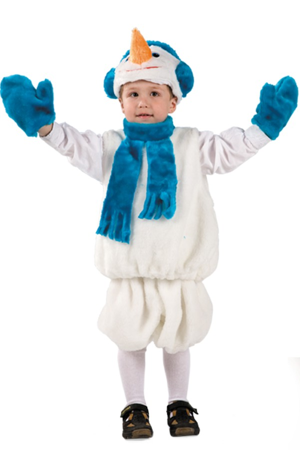 Новогодние детские костюмы своими руками с выкройками