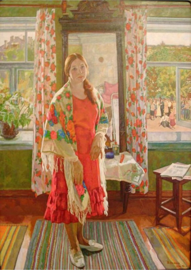 Бабье лето на картинах художников