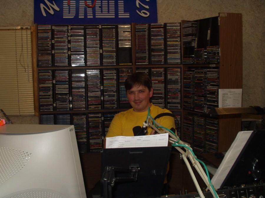 """Фото времён работы на """"Вашем радио"""""""