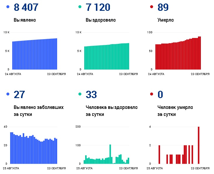 За последние сутки коронавирусом заболели 27 жителей Чувашии - Новости
