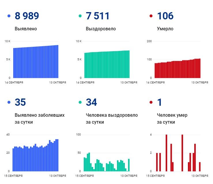В Чувашии общее число подтвержденных случаев COVID-19 приближается к девяти тысячам - Новости