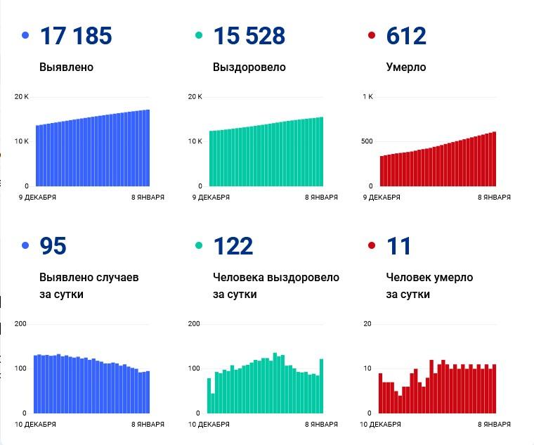 С 26 декабря в Чувашии фиксируют 10-11 смертей от коронавируса - Новости