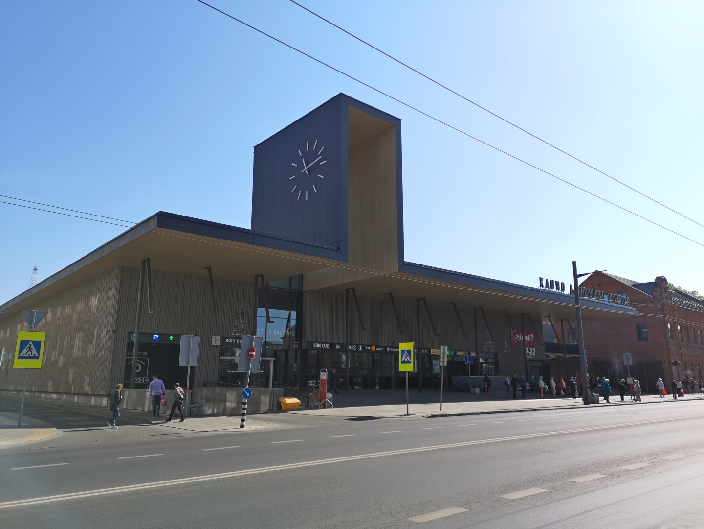 Автовокзал в Каунасе называют самым современным в восточной Европе