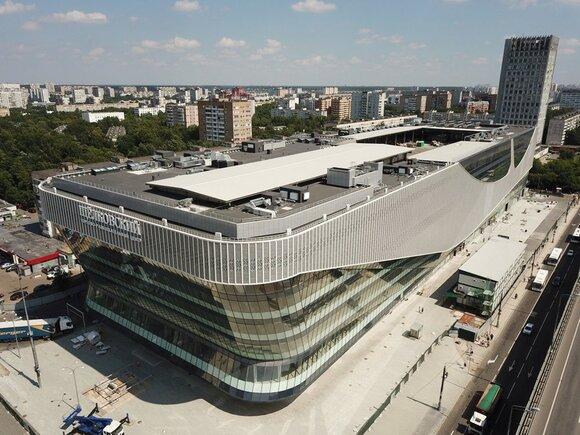 Автовокзал Щёлково высотой в 11 этажей! Фото отсюда