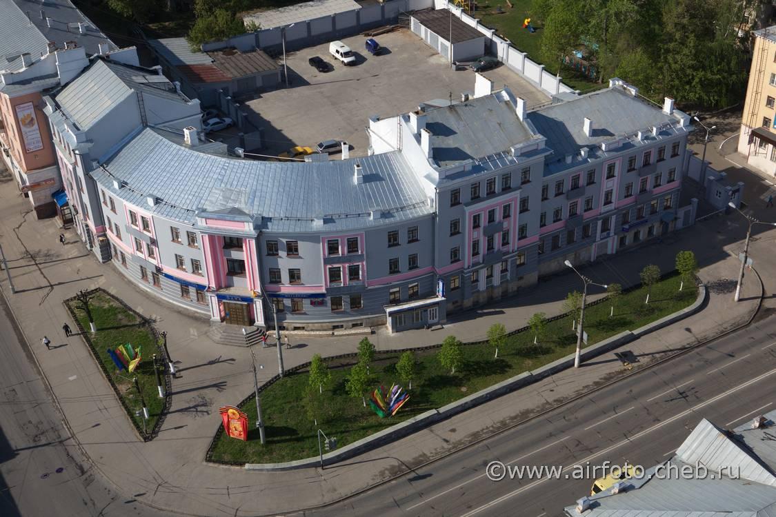 Вид с высоты, весна 2012 года. Фото: Валерий Тимофеев