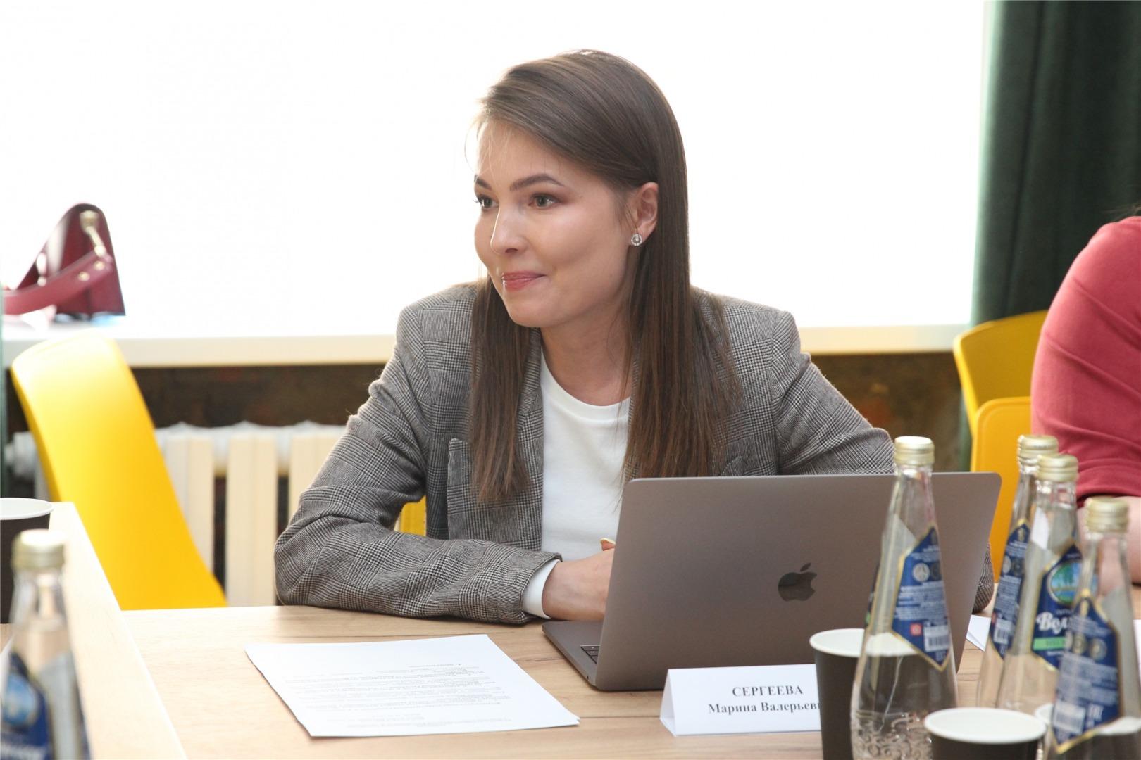Координатор проекта благоустройства Чебоксар Марина Сергеева