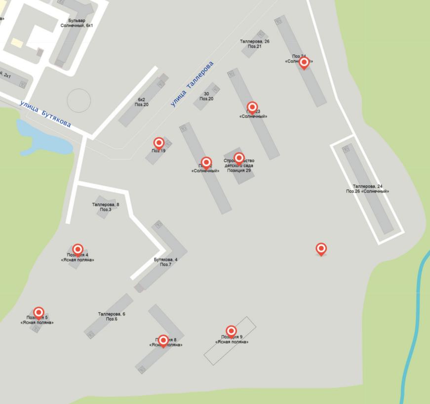 Посмотреть карту строек можно здесь