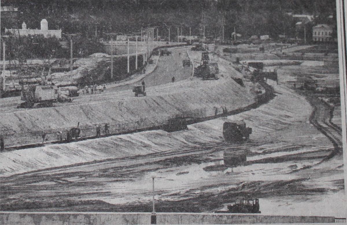 Строительство залива, 1996 год