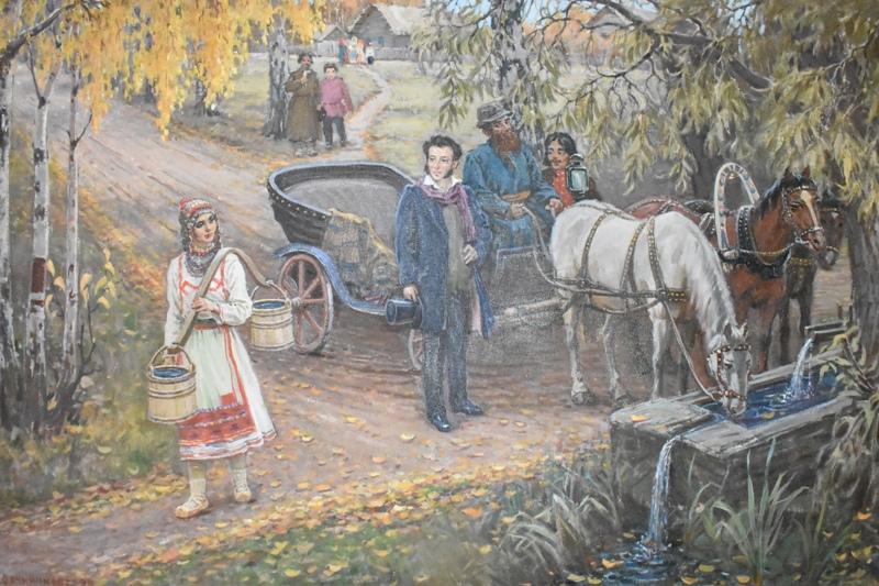 Н.В.Овчинников,«У родника», 1998 год. Фото: cap.ru