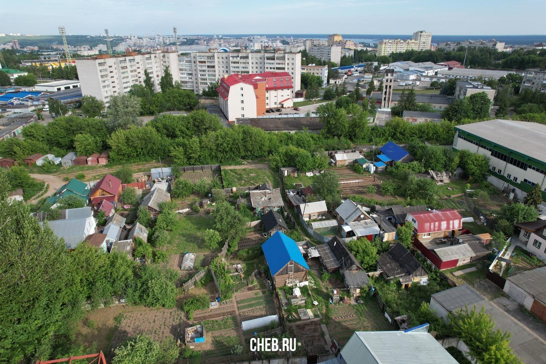 Частный сектор на улице Янки Купалы, Чебоксары