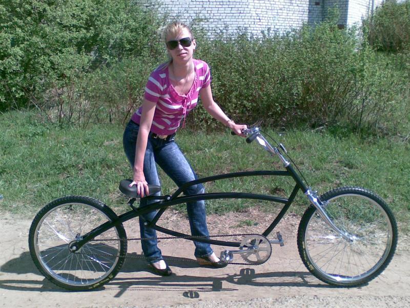 Как сделать велочоппер из велосипеда