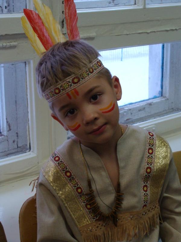 Новогодний костюм мальчику своими руками фото