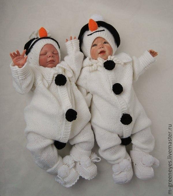 Наряды для новорожденных своими руками