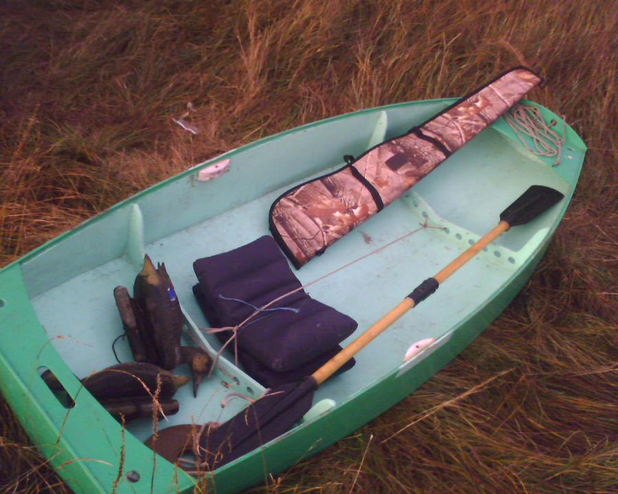 Самодельные рыбацкие лодки
