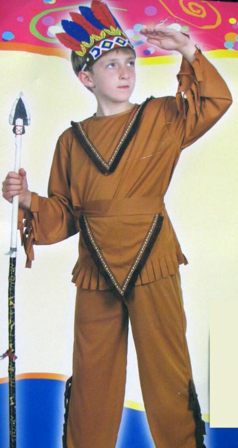 Фото как сделать костюм индейца
