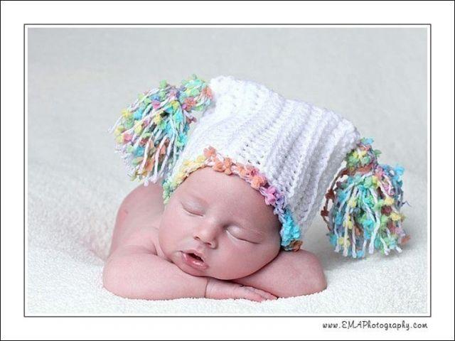 Фото схема вязания детской