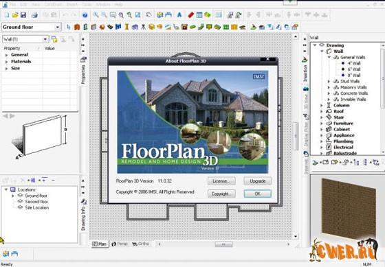 Скачать программу FloorPlan 3D Design Suite 11.2.60 Скачать с letitb