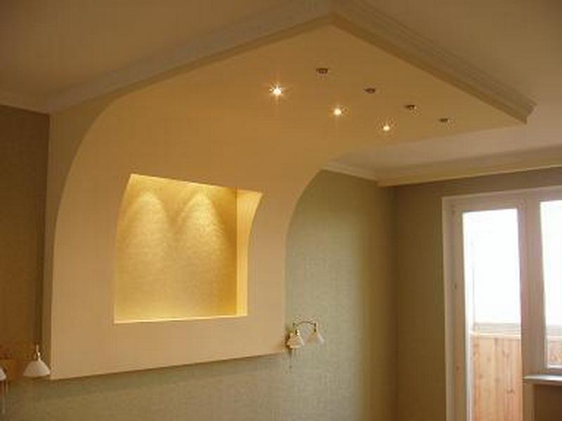 Отделка потолка и стен гипсокартоном своими руками