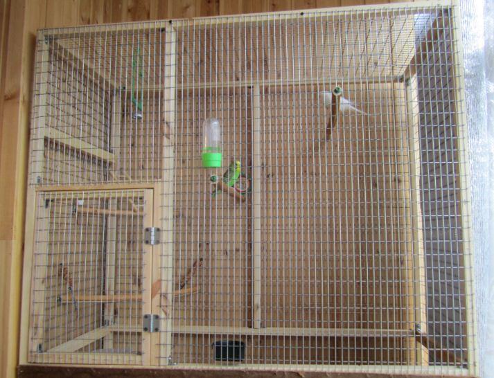 Клетка для попугай своими руками
